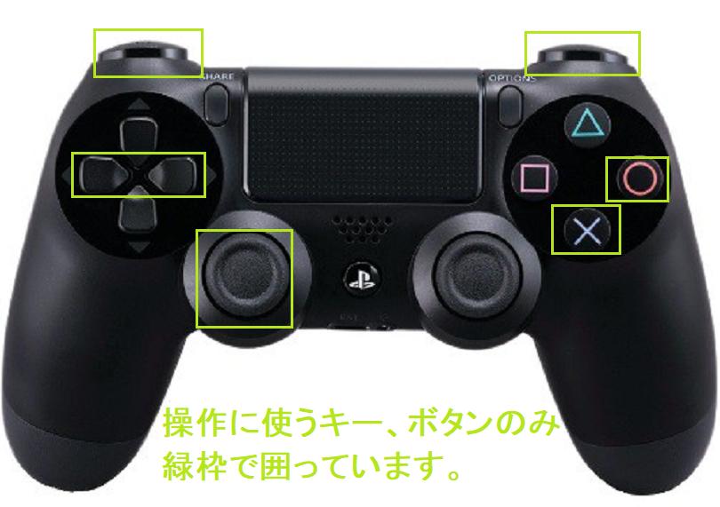 PS4コントローラでU-NEXTの動画再生時